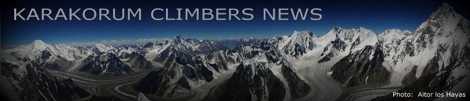 Karakorum Climbers News