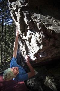 Spelonca - Spiluck Photo by © vertical-life.info Markus Hofer climbing Lobos Traum (7a+), Spelonca/Varna
