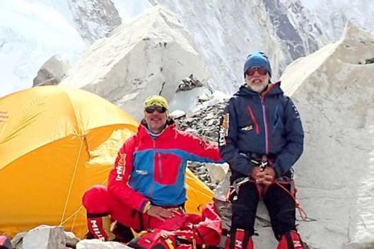 slovak climbers at Mt Everest base camp